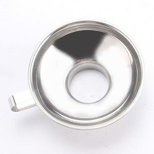 Image 4 - Adeeing Roestvrij Staal Brede Mond Trechter Inblikken Hopper Filter Voedsel Pickles Trechter Keuken Gadgets Kookgerei