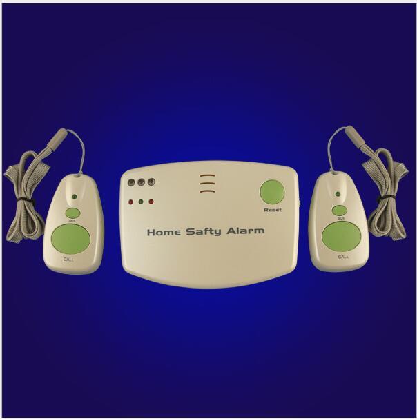 imágenes para Energía de la batería 433 MHZ Home Alerta de Seguridad de Alarma de Llamada de Atención Al Paciente de Pánico Botón Colgante Inalámbrica Ancianos