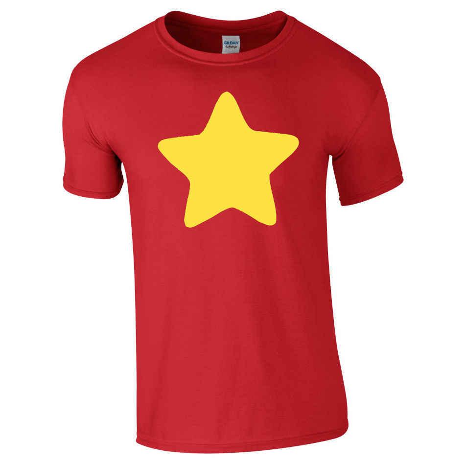 Steven universo estrella amarilla camiseta adulto/niño/niños