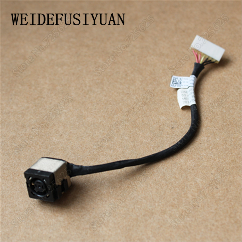 NEW DC JACK POWER PLUG IN SOCKET CABLE HARNESS FOR FOR Dell Inspiron 15 3541 3542 3543 14R 5421 3421 3437 free shipping new laptop dc power jack connector cable wire for dell inspiron 15r n5050 n5040 m5040 p n 50 4ip05 101