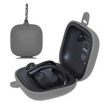 안티 스크래치 소프트 실리콘 스토리지 가방 운반 케이스 지갑 파우치 비트 powerbeats 프로 완전히 무선 블루투스 이어폰