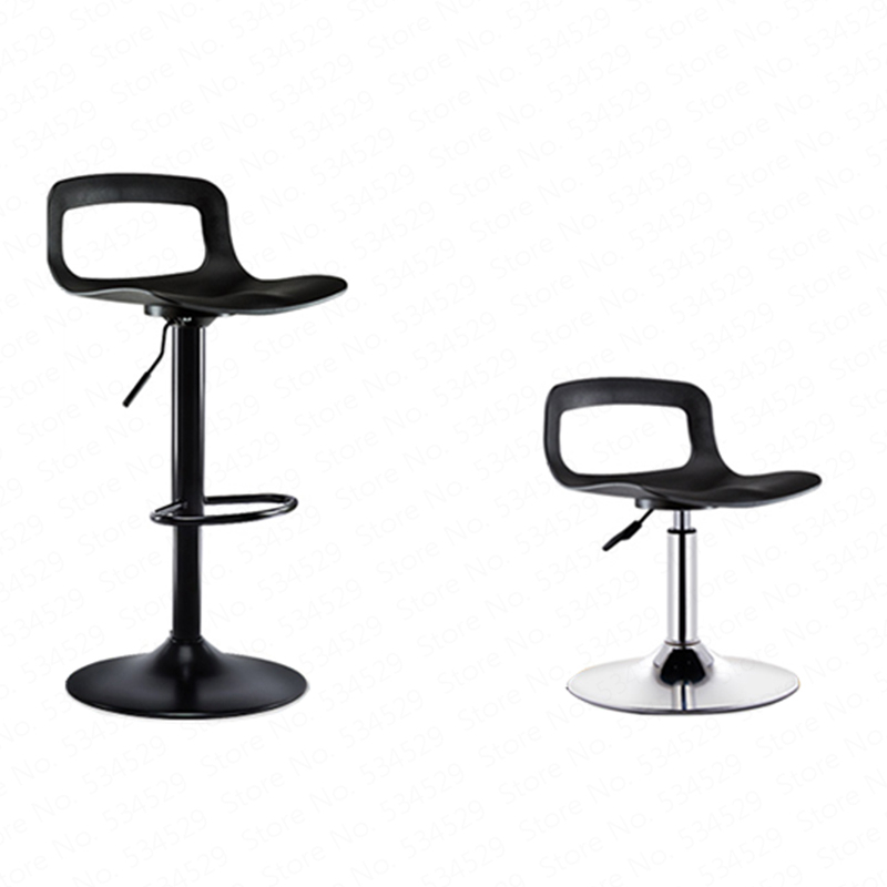21%Bar Chair Lift Home Restaurant High Stool Beauty Tattoo Stool Creative Modern Minimalist Bar Stool Wrought Iron Furniture