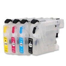 LC223 перезаправляемый чернильный картридж для принтера Brother DCP-4120DW MFC-J4420DW J4620DW J4625DW MFC-J5320DW J5620DW J5625DW J5720DW принтеры