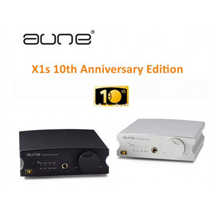 Aune X1s 10th Anniversary Edition 32BIT/384K DSD128 DAC HIFI Audiophile Headphone Amplifier-in Headphone Amplifier from Consumer Electronics    1