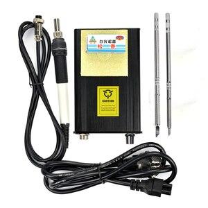 Image 3 - 110V 220V T12 Digital Soldering Iron Station Temperature Controller EU Plug+T12 Handle+T12 BCM2 and T12 K Tips