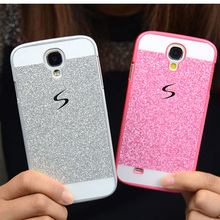 Case For Samsung Galaxy S3 S4 S5 mini Bling Cover plastic Hard Luxury Glitter Smooth For S3 S4 S5 mini Funda Protective casing