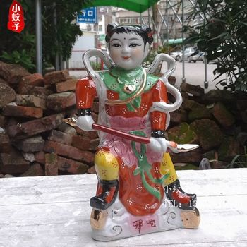 crafts home decoration accessories decor Ceramic Buddha downtown nazha sea Nezha three Prince ornaments auspicious feng shui sup