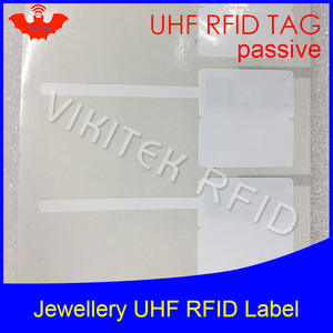 VIKITEK UHF RFID jewelry watch tag sticker printable label