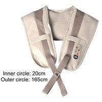 Multifunctional U Shape Electrical Back Neck Shoulder Body Massager PU Leather Comfortable Body Massager Tool Health