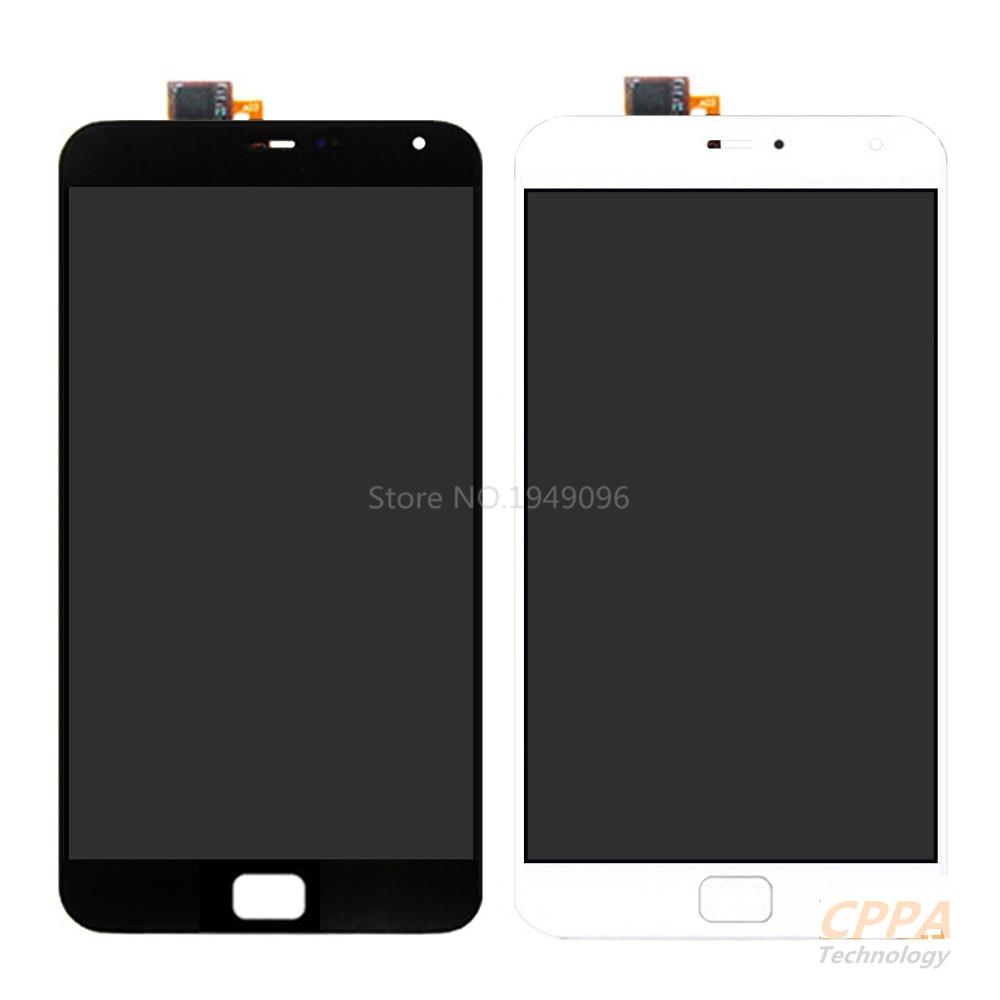 """Nueva Pantalla LCD + Asamblea de Pantalla Táctil Digitalizador Para Meizu MX4 Pro 5.5 \""""Teléfono Celular de Color Blanco Negro"""