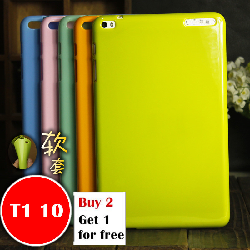 For Huawei T1 10 T1-A21W Tablet Case for Huawei MediaPad T1 9.6 T1-A21L T1-A23L Honor Note Soft Silicone TPU Back Cover Case цена