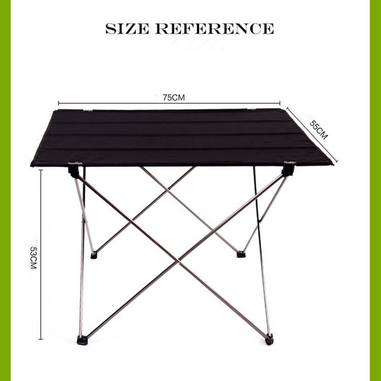 Portable Foldable Folding Table Desk Camping Outdoor Picnic 6061 Aluminium Alloy Ultra-light