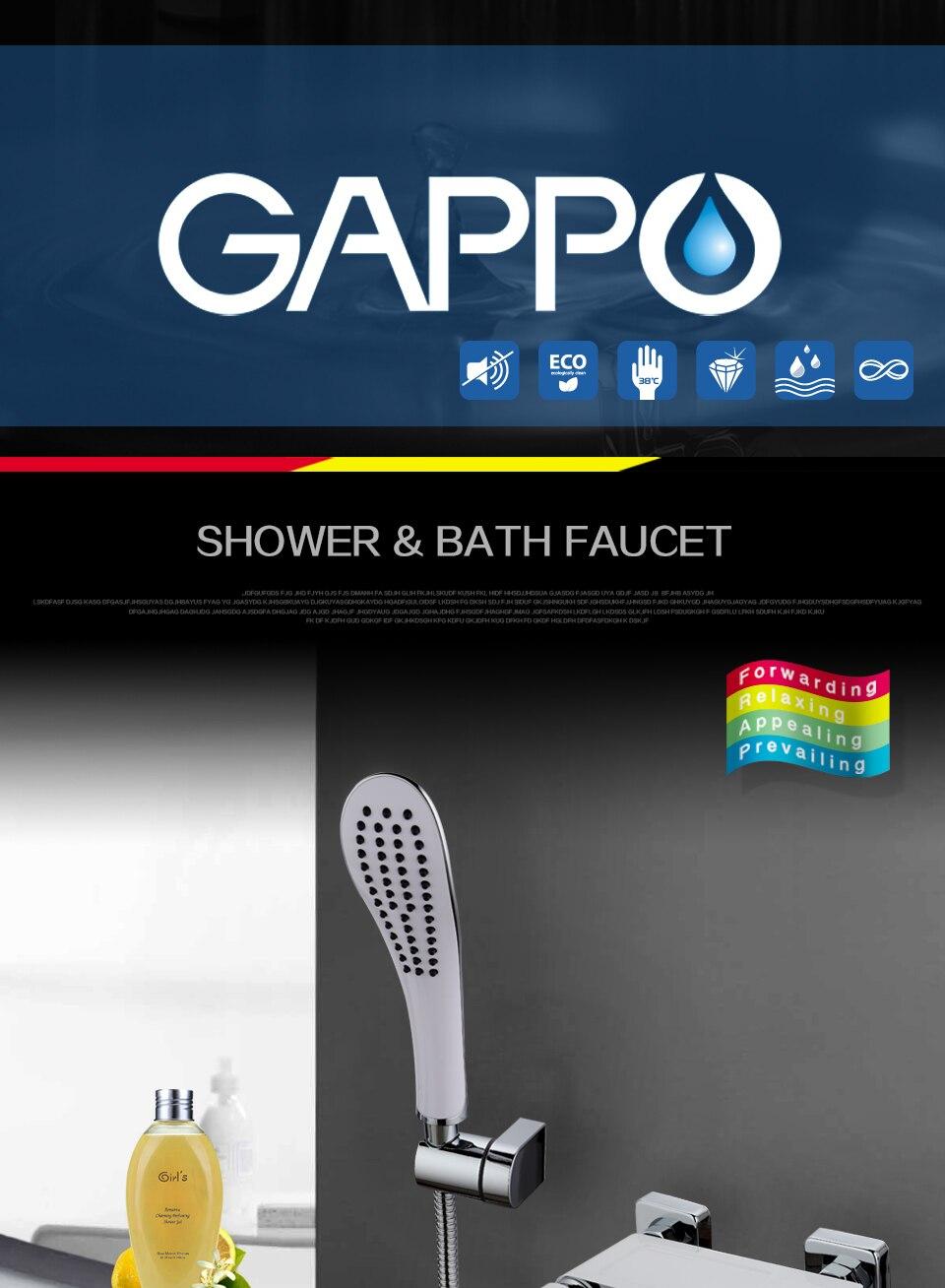 GAPPO rain shower faucet cachoeira torneiras de
