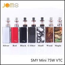 ฮาโลวีนบุหรี่อิเล็กทรอนิกส์สมัยวัตต์ตัวแปรSMYมินิ75วัตต์VTCสูบไอสมัย7สี75วัตต์Vape Mod OLED Ecigกล่องสมัยJomo-57