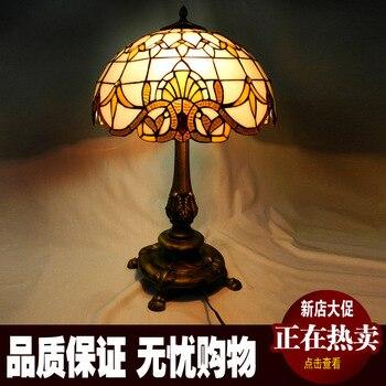 Glassofa Tisch   Europäische Klassischen Barocken Retro Wohnzimmer Sofa Tischlampe Schlafzimmer Nachttischlampen Dekorative Lampe Glasmalerei Ausfahrt Lichter