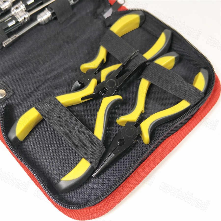 10 PZ Corredo di Attrezzo del Cacciavite Esagonale Socker Con Tela di Canapa Custodia Per RC Auto Aereo