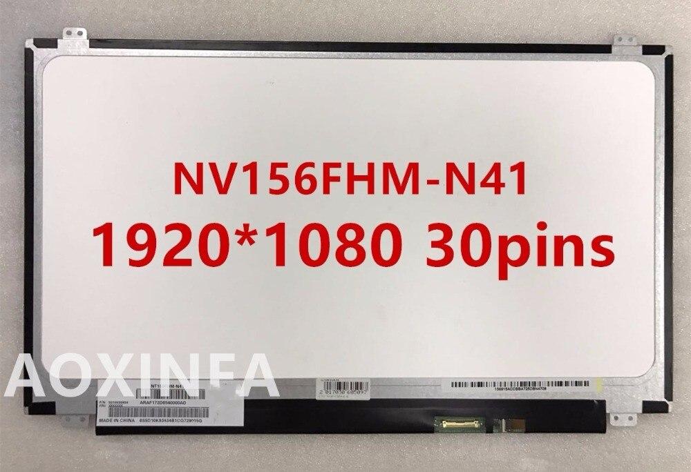 15.6 IPS 1920*1080 lcd led laptop screen NV156FHM-N42 NV156FHM-N46 NV156FHM-N41 NV156FHM-N31 15 6 lcd led laptop screen for boe nv156fhm n46 nv156fhm n41 nv156fhm n31 1920 1080 ips 30pin edp lcd screen 5d10k18374