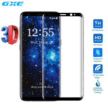 3D Curved Full Coverage Tempered Glass For Samsung Galaxy S8 Plus S8+ S7 Edge S6 Edge Plus Screen Protector Pet Film TPU Case