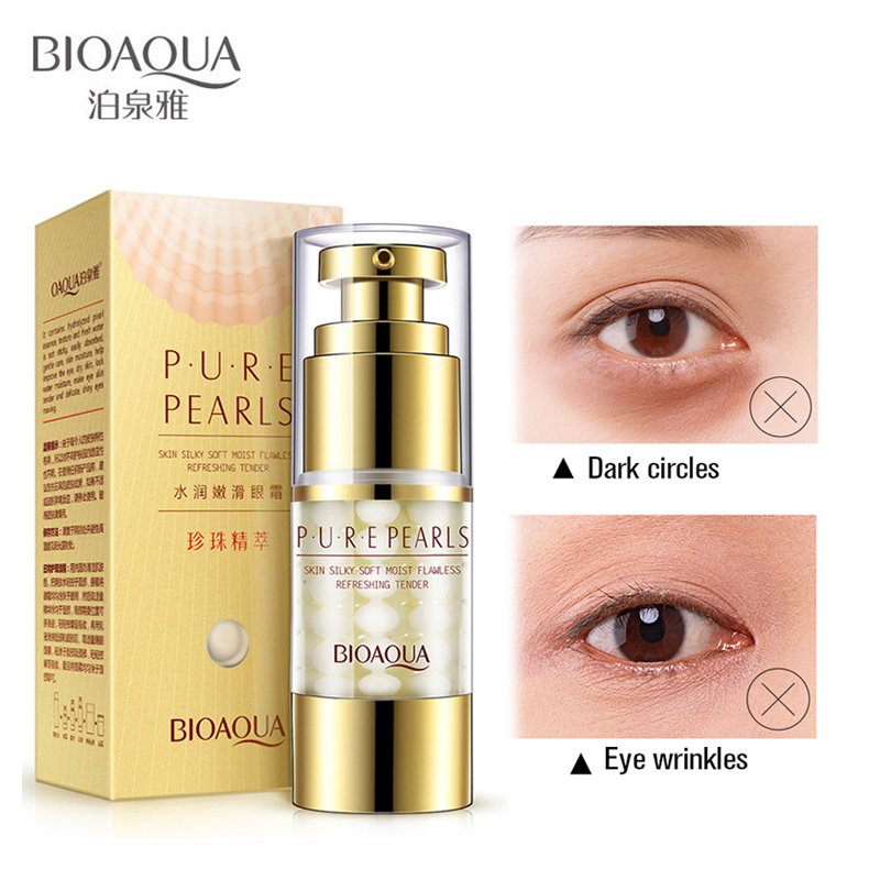 Bioaqua Cremă de ochi Anti-puffiness Colagen Cercuri întunecate și - Ingrijirea pielii