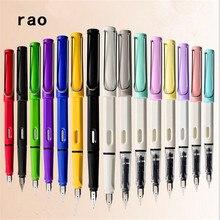 Высокое качество, 555 цветов, студент, школа, офис, F и EF перо, авторучка, лучший подарок, чернильная ручка, канцелярские принадлежности