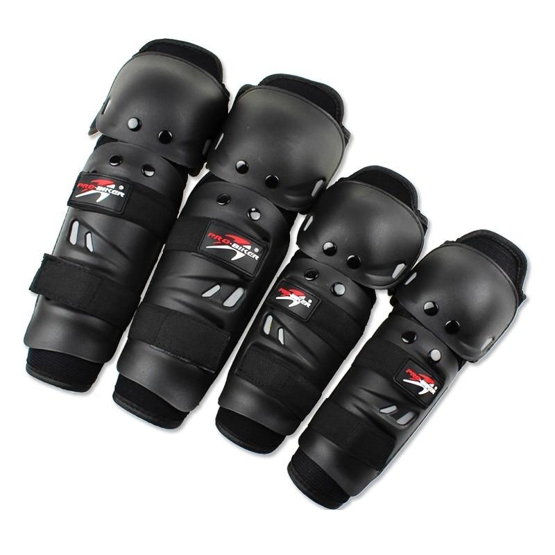4 Teile/satz Motorrad knieschützer Joelheira Schutz Motocross ...