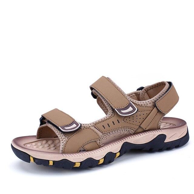 47b10077fd6 Venta caliente de Los Hombres Sandalias de Moda Sandalias de Verano  Casuales Para Hombre 2017 de