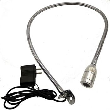2W LED HEADBOARD MOUNTED READING LAMP