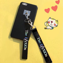 KPOP EXO Laser Lanyard Key Chain Strap Name Cellphone SEHUN CHANYEOL Ribbon Keyring