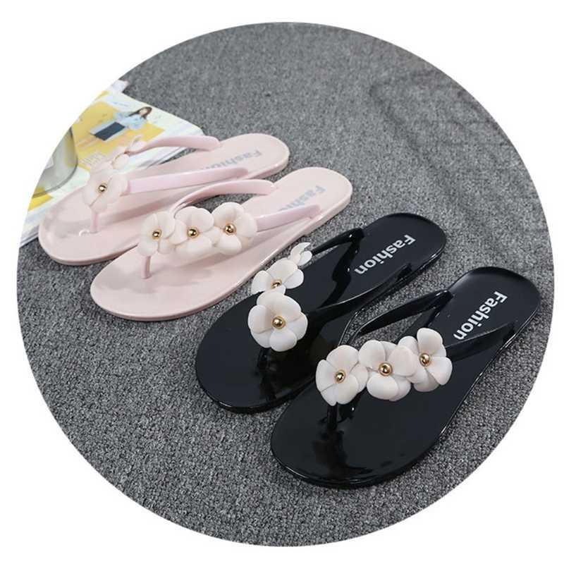 bf1f3f251eba ... EU  Chinese Size 36 to 40 Summer Girl Women Slippers Beach Flip Flops  Flat Heel ...