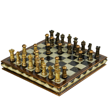 New Refined High-grade Resin Wooden Chess Set Handwork EPMC Pieces Classic Decoration Household Exquisite Gift Crafts Board Game s3 doctors nurses professional acoustical classic household high performance bold rubber tube high grade stethoscope chestpiece