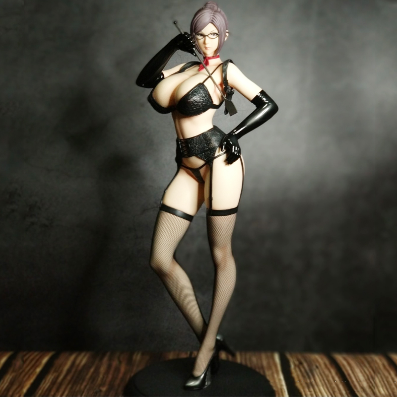 41cm Kangoku Gakuen Prison School Meiko Shiraki Underware Sexy girls Anime PVC Action Figures toys Anime figure Toys For gifts