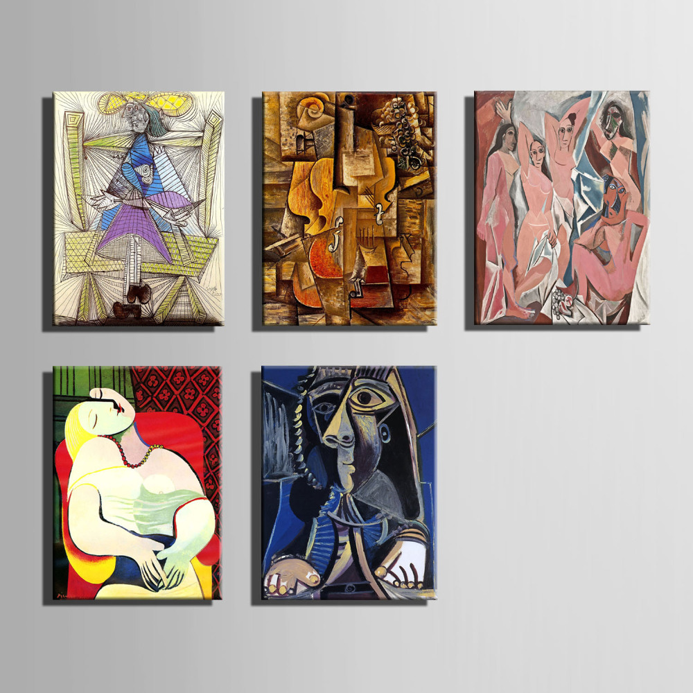 online get cheap wall decor canvas aliexpresscom  alibaba group - the logicians oil painting wall decor canvas painting art print canvasprint wall art pablo picasso