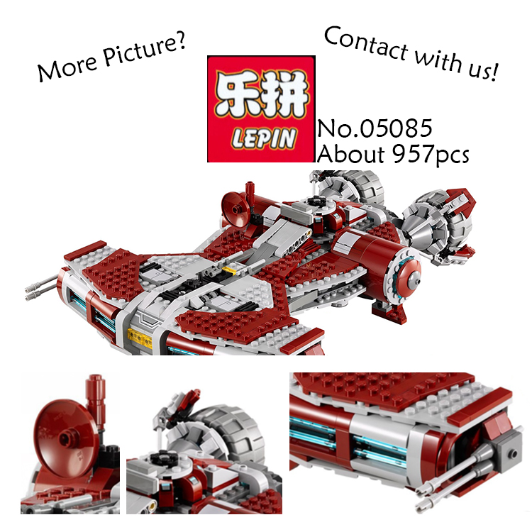 Lepin 05085 Star War Series The Jedi Defender Class Cruiser Set Building Blocks Bricks Educational Toys asGifts With 75025 herbert george wells the war of the worlds
