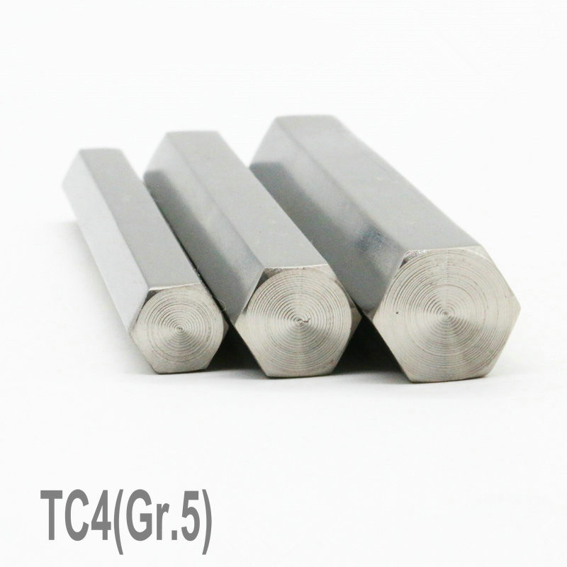 цена TC4 Titanium Alloy Hexagonal 14mm Cylinder Length 600mm plg Industry Experiment Research DIY GR5 Ti Rod Titanium Alloy bar