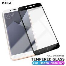 KUGE Xiaomi redmi Note 5A Prime glass xiaomi redmi note 5a pro screen protector xiaomi redmi note 5A prime Tempered Glass film все цены