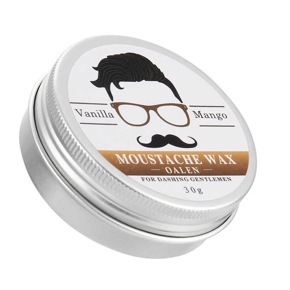 30g Erkekler Sakal Yağ Sağlıklı Nemlendirici Yumuşatma Bıyık Balsamı Beyler Beards Bakım Ürünleri Kremi Şekillendirme Araçları QRD88