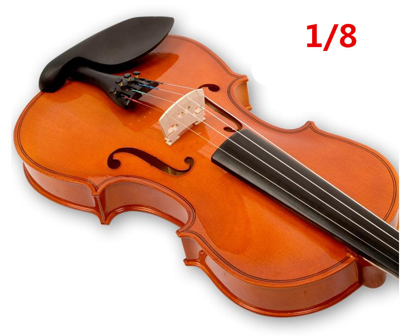 V101 High quality Fir violin 1/8 violin handcraft violino Musical Instruments Free shipping