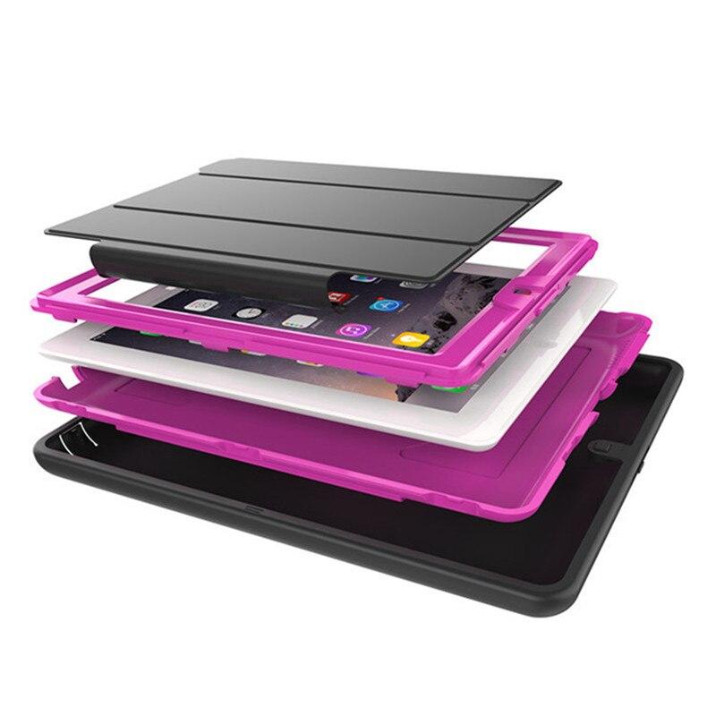Fodral för Apple iPad 4 Kids Safe Shockproof TPU Stativskydd för - Surfplatta tillbehör - Foto 4