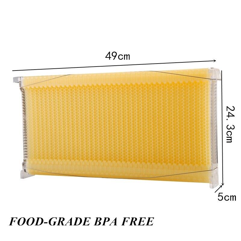 Kunststoff honig fluss hive rahmen 7 stücke kit für holz ...