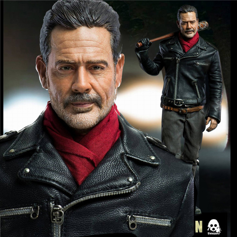 Full set  1/6 Scale Set The Walking Dead Negan doll 30.5cm tall with Weapon Accessory