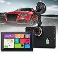 902 7 Дюймов Android 4.4 Tablet GPS 170 Градусов Широкий угол 1080 P DVR Рекордер WiFi/3 Г Fm-передатчик Поддержка Google карты