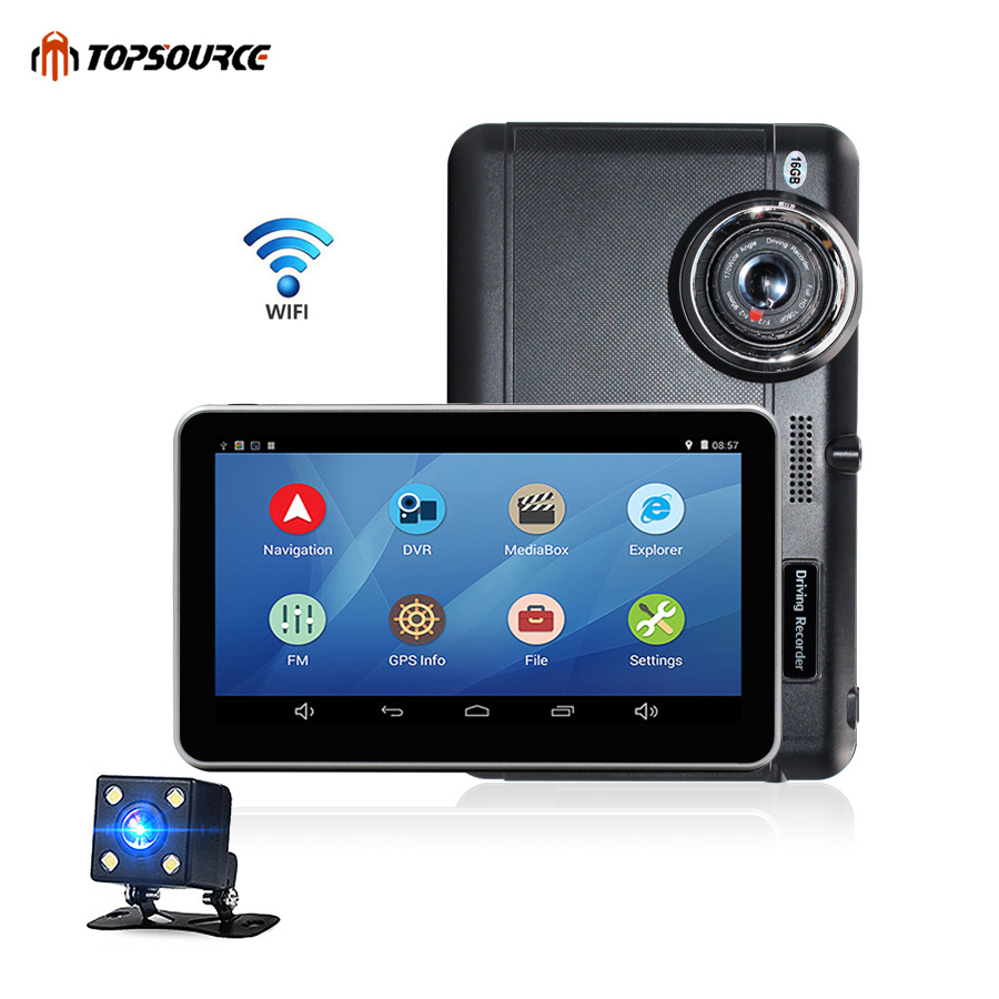 TOPSOURCE Car DVR Android 7