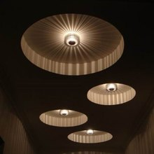 New Arrival 3W Creative Flush Surface Mounted LED Ceiling Panel Lights Home Decor Energy-Saving Brightness Lighting Lamp