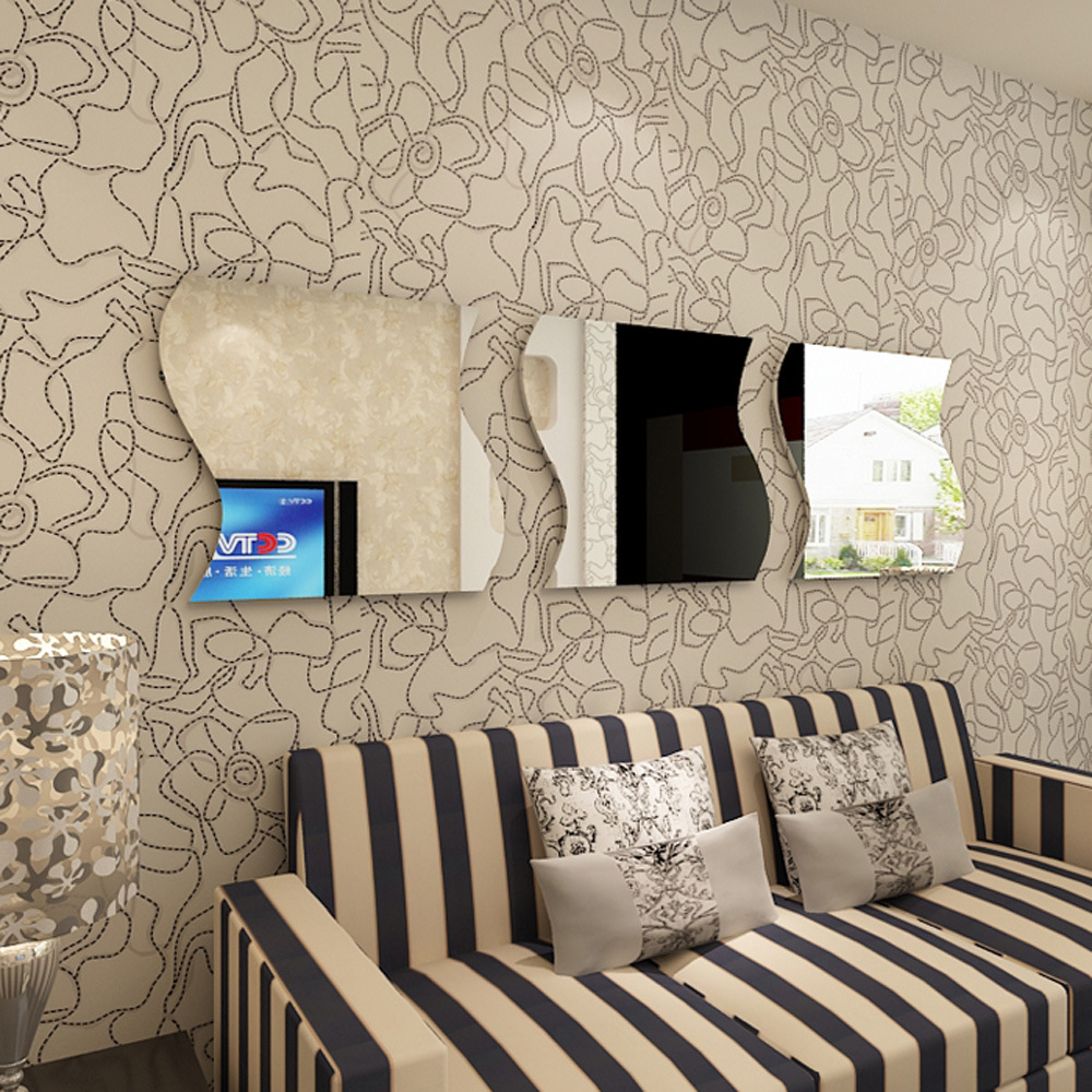 Specchio adesivo murale decorativo promozione fai spesa di ...