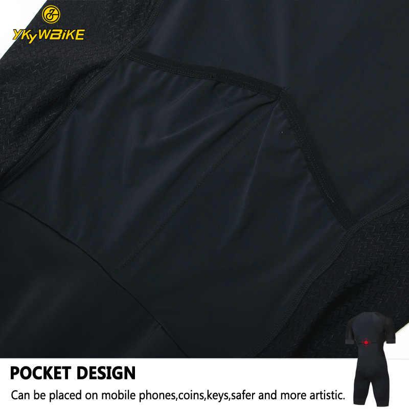 YKYWBIKE 2019 Pro велокостюм карманы с коротким рукавом для мужчин Велоспорт Спорт триатлонный костюм индивидуальная одежда для велоспорта высокого качества