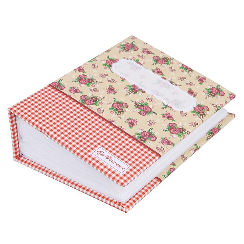 100 џепа цветни фото албум меморија слике складиштење држите случај вјенчање дипломе Комеморативни албум Сцрапбоок