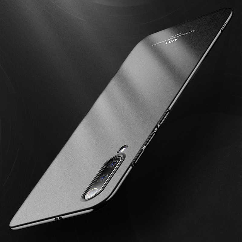 MSVII Phone Cases for Xiaomi Mi 9 Case Matte Hard Cover for Mi 9 SE Case Ultra-thin Anti-fingerprint for Xiaomi Mi9 Coque Capa