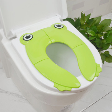 Kids Travel Folding Potty Seat Pad Portable Baby Toddler Toilet Training seat Cover Cushion Children Pot Chair Pad pad mat in Potties from Mother Kids