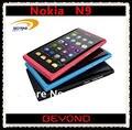 100% original de Nokia N9 abrió el teléfono móvil N9-00 Nokia Lankku WIFI GPS 8MP 3 G GSM MeeGo OS 16 GB envío gratis