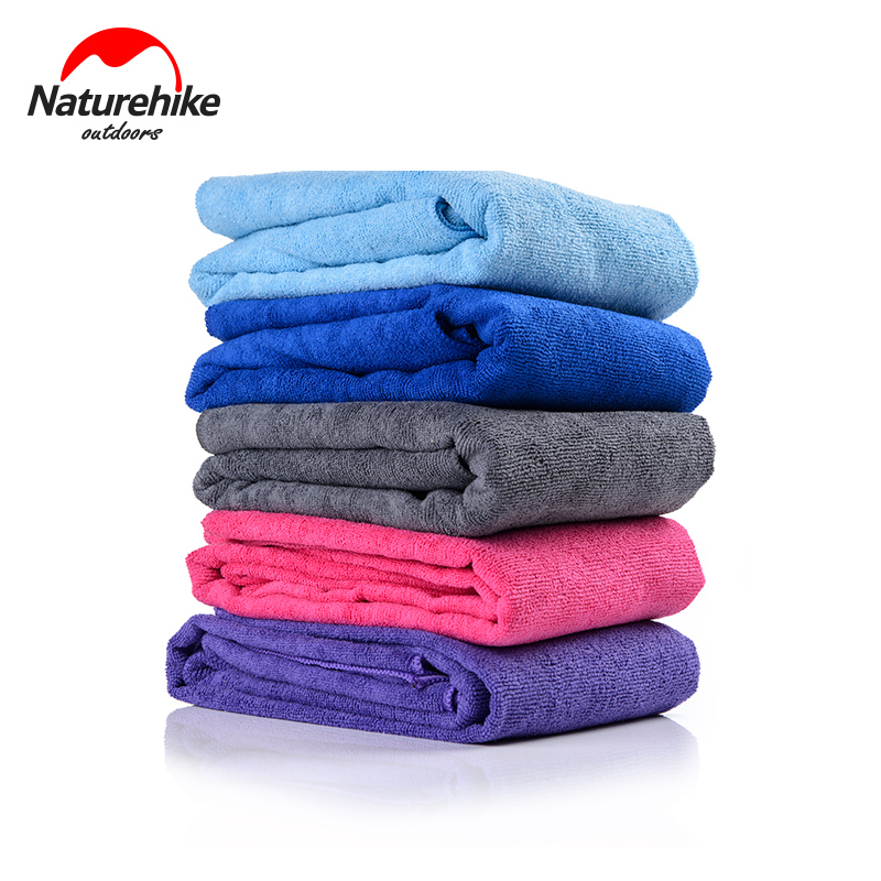 Naturehike Antibacterial Swimmimg Towel 5 Color Ultralight Outdoor Absorbing Water Quick Dry Bath Travel Gym Towel 70x135cm